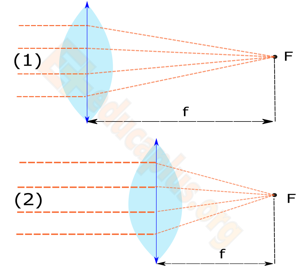 98017d0719 Lentes convergentes y divergentes | Educaplus