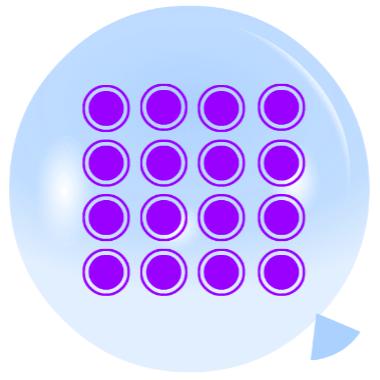 Pincha globos - Contar por grupos