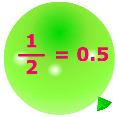 Pincha globos - Fracciones a decimales
