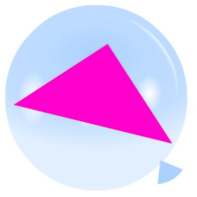 Pincha globos - Triángulos