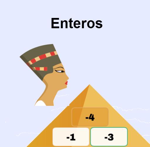 Pirámide enteros